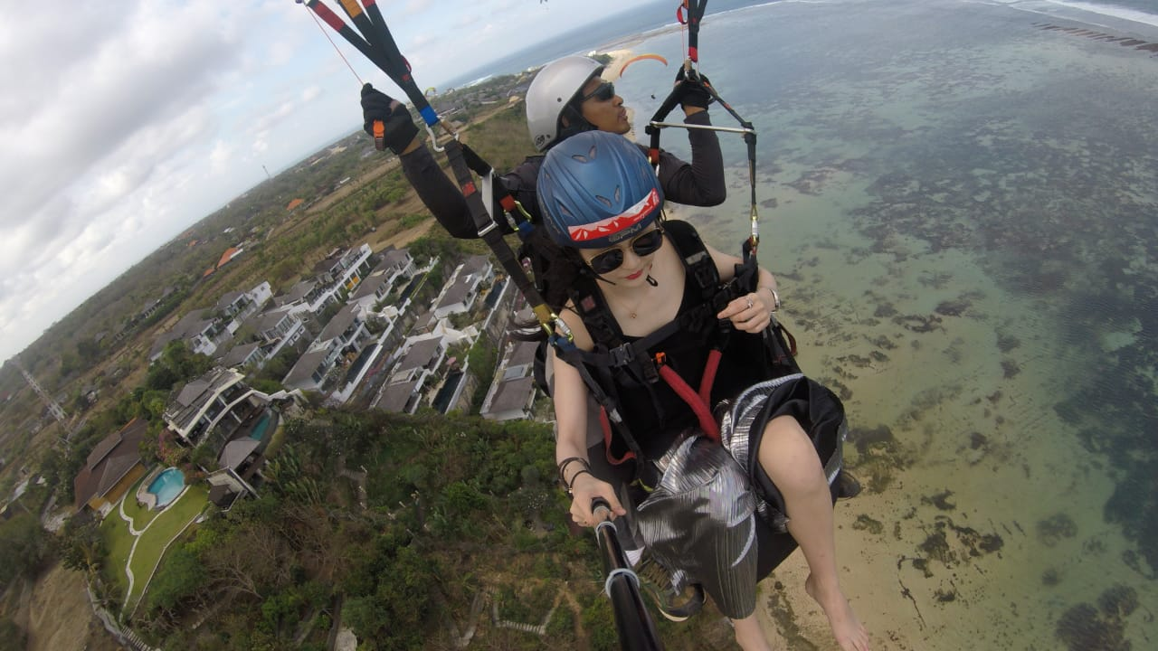 Bali Paragliding – Your satisfaction is our goal